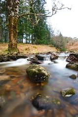 Riverside camping spot - Highlands and Islands 2015 (mahphotographs) Tags: longexposure camping trees water river scotland moss rocks blurred roadtrip fluid lichen blurs smoooth scottishhighlands