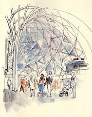 Kings Cross Station, London, 25th April 2105