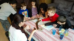 Koningspython op je kinderfeestje