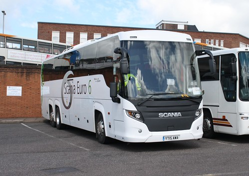 Taylors Of Yeovil Are Operating This Euro 6 Scania Higer Yt15awa