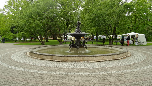 Riga, Fountain in Vermanes Park [16.05.2015]