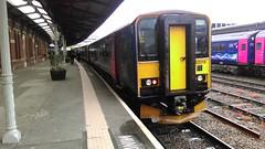 FGW 153318, Gloucester (sgp_rail) Tags: station train rail railway gloucestershire gloucester gw glos 153 fgw 153318 2g82