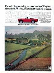 1973 Triumph TR6 Advertisement Newsweek April 9 1973 (SenseiAlan) Tags: 9 advertisement triumph april newsweek 1973 tr6