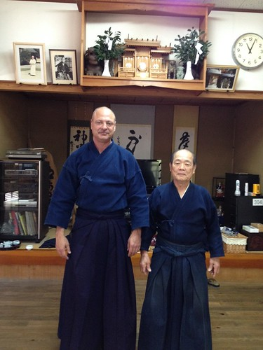 At Namitome Sensei's Dojo