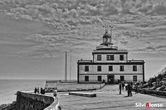 Faro Finisterre. (salonsof24) Tags: espaa lighthouse byn faro spain galicia hdr finisterre