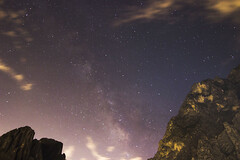 Ruta: Nuevo Sendero Luminoso { Hidalgo, NL } (Charlie Gza) Tags: travel mxico night stars photography tokina climbing potrero nl chico escalada hidalgo milkyway nuevolen vialactea