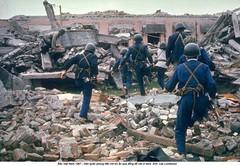 5574143 (ngao5) Tags: ruins vietnamese politics north over vietnam viet revolution shelter militia hanoi bomb defense rubble civilian rushing toward cong alerted timeincnotown 5574143