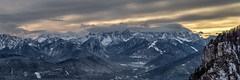 Karnische Alpen (michael.taferner) Tags: winter panorama alps nature sunrise canon eos austria view outdoor carinthia 6d 24105