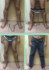 chain gang (asiancuffs) Tags: prison handcuffs arrested arrest prisoner handcuffed