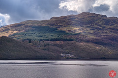 On the way to Skye 2 (Kasia Sokulska (KasiaBasic)) Tags: lake mountains landscape scotland spring highlands loch lomond inveruglas fujix