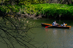 Messing About on the River (Stuart Tarn) Tags: england water river boats spring durham unitedkingdom riverwear gb northeast rowingboat
