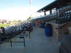 Infield Walkway at Scottsdale Stadium -- Scottsdale, AZ, March 08, 2016 (baseballoogie) Tags: arizona baseball stadium az giants scottsdale ballpark springtraining sanfranciscogiants cactusleague baseballpark scottsdalestadium 030816 canonpowershotsx30is baseball16