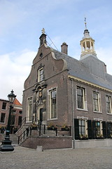 Oude Stadhuis, Schiedam (twiga_swala) Tags: holland building dutch architecture town hall rotterdam downtown place grand historic baroque markt paysbas oude mairie stadhuis schiedam grote zuidholland historique