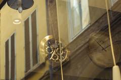 The time ... inside or outside? (natale.riili) Tags: time vetrina riflessi orologi