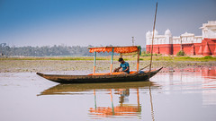 Neermahal.. Tripura (Sajal Mukherjee) Tags: travel blue india reflection water landscape landmark tripura agartala northeastindia 500px
