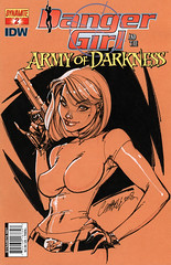 Danger Girl and the Army of Darkness 2 (J. Scott Campbell cover) (FranMoff) Tags: orange comicbooks campbell armyofdarkness dangergirl jscottcampbell abbeychase