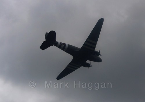 A Dakota from the Battle of Britain Memorial Flight at Moira Canal Festival 2016