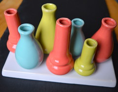 Colourful Pots (Tony Worrall Foto) Tags: color colour geometric fun nice many thing empty misc group shapes made pots round vase colourful potty colourfulpots