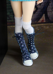 (by Hand Dreams) Tags: shoes hand sewing made msd sneackers minifee