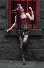 Female Wyvern (5) (Dezmin) Tags: rock drag photography model punk king alt alice horns cooper loki demon devil corset spine tentacle mx slippery alternative eloquent genderfuck
