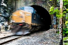 Ilchester (6-11-16)-007 (nickatkins) Tags: longexposure railroad bridge sky water graffiti bridges rail tunnel bluesky ironbridge rails railroads