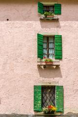 casa colorata (catherina unger) Tags: malga monte baldo casa colori finestre windows veneto mountains house