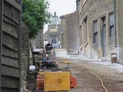 Haworth in the 1840s (waldopepper) Tags: set mainstreet 1840s haworth penistonehill bbcfilming