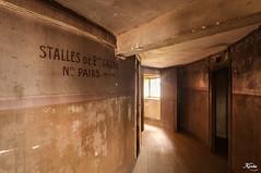 Corridor (leKorbo.be) Tags: light architecture nikon scene route behind fx mes théâtre scènes