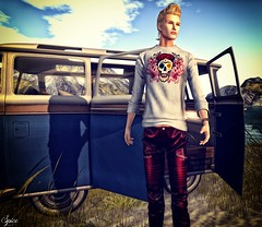 Spice wearing ::ALTER:: Ian Longsleeve Shirt and Morgan Pants @ Swank (Two Too Fashion) Tags: sexy fashion style sensual secondlife casual chic swank alter malemodel stylish casualchic fashionpants maleshirt secondlifemodel fashionshirt malepants maleoutfit chicoutfit ianlongsleeveshirt morganpants