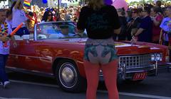 Show Your True Colors (swong95765) Tags: people public car shirt parade lgbt