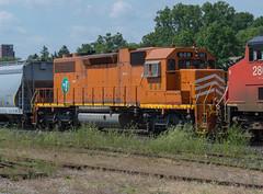 EJE 669 Roster (Joseph Bishop) Tags: railroad cn train track tracks rail railway trains r rails railfan brantford eje 669 emd sd382 elginjolieteastern cndundassubdivision