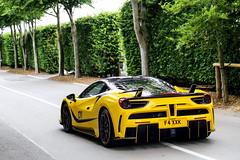 4XX (Reece Garside | Photography) Tags: ferrari 488 ferrari488 mansory 4xx siracusa yellow italian supercar summer spotter sun street car canon canon6d hypercar history rare london tuned goodwood saywell