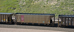 HYWX coal hopper-near Ellsworth, Nebraska. (Wheatking2011) Tags: hywx owned by georgia power company powder river basin wyoming scherer generation plant bnsf railroad ellsworth nebraska