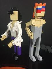 Putt-Putt Hole Prince and Bowie (davekaleta) Tags: lego music bowie prince rock n roll virtualug puttputt putt golf minigolf miniland