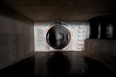 703_3072 (M Falkner) Tags: urban underground concrete tank flood tunnel drain management watershed subterranean exploration sewer overflow ue urbex cso draining keelesdale