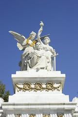 Juarez (diegogassier1) Tags: bellas artes cdmx benito juarez sun day angel politicians monument
