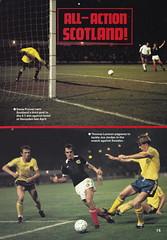 Scotland vs Holland - 1982 - Page 15 (The Sky Strikers) Tags: scotland holland netherlands official programme hampden park glasgow 60p international friendly