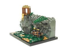 LOM: Military Builder Challenge IV (Armon Russ) Tags: jungle rockwork watchtower medieval lom