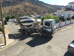 Spain (South Strand Trucking) Tags: cement truck periana mixer mercedes merc