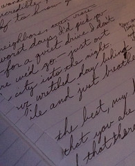 First draft (ha3rvey) Tags: handwriting cursive