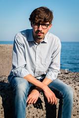 Primo maggio da #bomber (Matteo_Orl) Tags: boy portrait italy li san italia porto sicily ritratto cuti catania sicilia giovanni ragazzo porticciolo