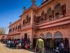 "Sawai Madhopur Railway Station <a style=""margin-left:10px; font-size:0.8em;"" href=""http://www.flickr.com/photos/41134504@N00/17183410255/"" target=""_blank"">@flickr</a>"