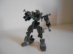 Steel body project: Dronehead (Loysnuva) Tags: project lego body steel mini system frame bionicle mecha bot moc loys nuva bionifigs loysnuva