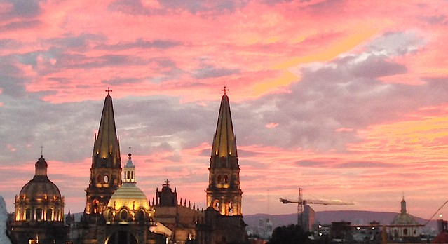 Sunset Over the Cathedral
