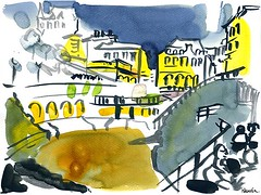 Biarritz, la nuit (Frederic Malenfer) Tags: caf bar nuit plage biarritz portvieux malenfer fredericmalenfer