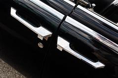 Bookend handles (GmanViz) Tags: color detail car nikon automobile doors lock continental chrome lincoln handles 1964 d90 gmanviz columbuscarscoffee