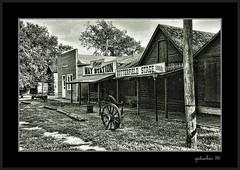 Old Abilene 06 (the Gallopping Geezer 3.6 million + views....) Tags: old building history canon cowboy structure historic western kansas ghosttown wildwest americanwest geezer corel oldwest wildbill cattledrive hickok 2006roadtrip oldabilene