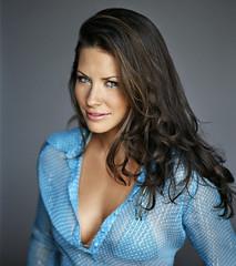 15 (SuckTheButton) Tags: model blouse transparent unbuttoned