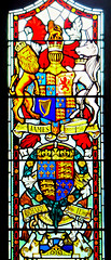 Royal Coats of Arms. Guildhall, City of Derry, Northern Ireland (Grangeburn) Tags: ireland stainedglass londonderry derry guildhall cityofderry northernirelanduk