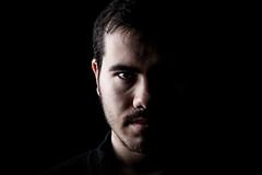 Carlos (fatings) Tags: portrait man male studio nikon dramatic headshot lowkey sidelight d3200 splitlight